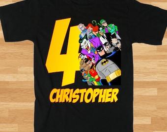 Batman Custom Printed T-Shirt