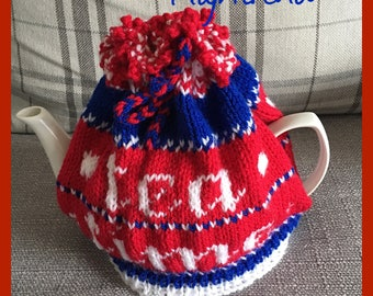 Handmade tea cozy