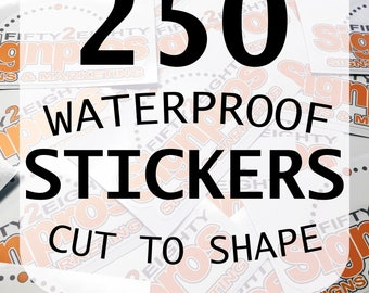 Custom Vinyl Sticker Etsy - Custom vinyl stickers logo