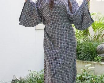 Suki Wrap Kimono, Cover-Up, Loungewear, Yukata, Robe, 125-101