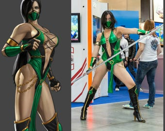 Jade Costume (Mortal Kombat 9 Cosplay)