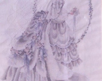 The Bride -- Lavender and Lace by Marilyn Leavitt-Imblum 1990