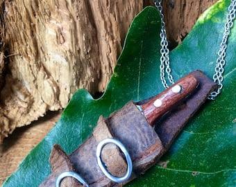 Hand-Forged Miniature Knife #4