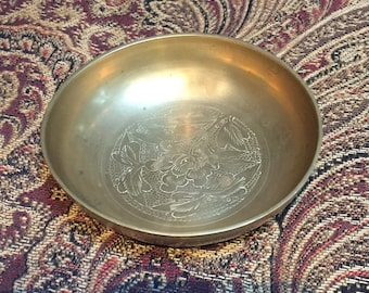 Small Chinese Brass Bowl