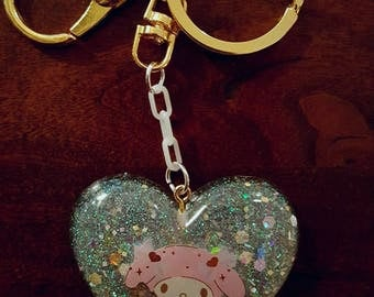 READY TO SHIP! My Melody Kawaii Keychain