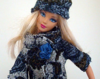 HELD 4 high fashion to the French LIVIA clothes, outfit, dress, tailor 30 cm barbie doll