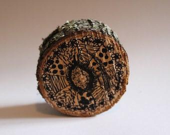 Wood Zen Tangle Art Decoration