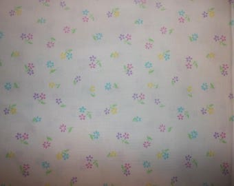 Easter Ditsy Floral Cotton Fabric #279