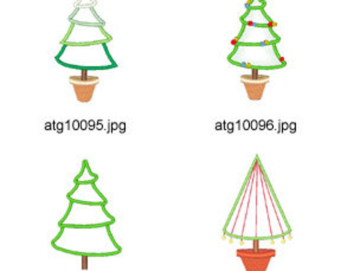 Christmas-Applique ( 11 Machine Embroidery Designs from ATW ) XYZ17K