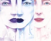The Waterpaint Female Faces Collection