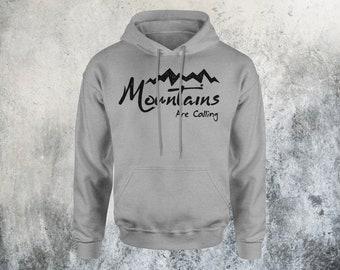 Mountains are Calling Shirt - Hiking Shirt - Outdoor Gear - Sweatshirt - Camping Hoodie