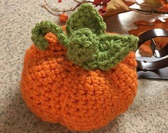 Crochet Stuffed Pumpkin PDF PATTERN ONLY