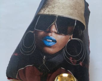 Missy Elliott Puffy Pin