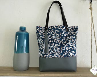 Blue Onyx Mitsi collection tote bag