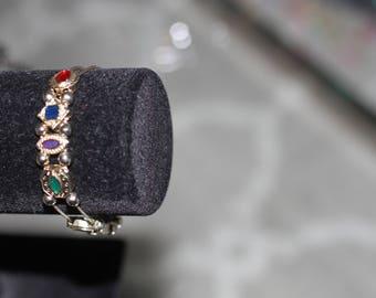 Multi Color Charm Bracelet
