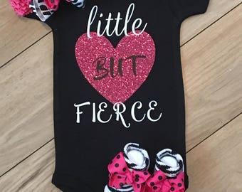 Little But Fierce Girls Outfit