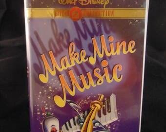 Make Mine Music Vintage Disney VHS