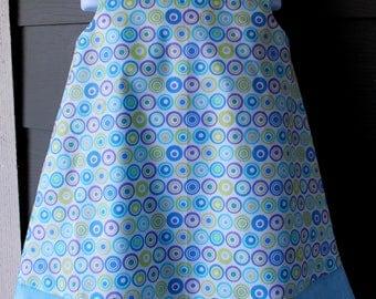 Pastel Blue Polka Dot  Print Jumper