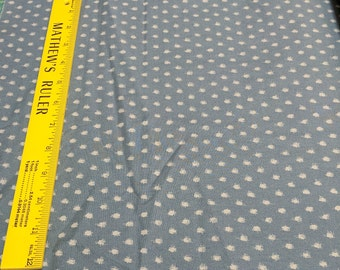 Indigo-Blue Dots Cotton Fabric from Moda Fabrics