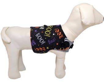 Halloween BOO Dog Vest