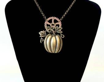 Pumpkin Halloween bronze