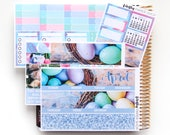 April Monthly Kit (stickers for Erin Condren Life Planner)