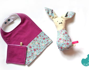 Softie / rattle bunny, baby gift
