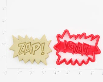 Zap Cookie Cutter Zap Birthday Zap  Party Zap  Baby Show Zap  Cupcake Zap  Gift