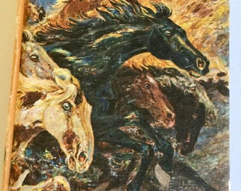 Fury and the Mustangs Vintage Hardcover, 1960