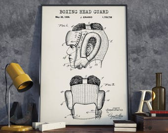 Baseball game field blueprint art patent prints digital boxing patent prints head guard blueprint digital download boxing gifts sports wall malvernweather Image collections