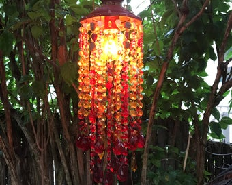 Hand made Crystal beads chandelier