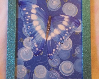 Butterfly Dream. Blue Butterfly. Blue Picture