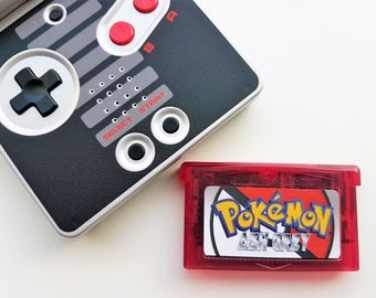 Pokemon Ash Gray Nintendo Game Boy Advance GBA & DS Lite -(English Fan Made) Ash Grey Version