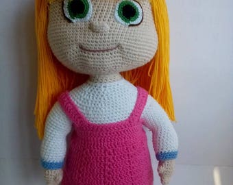Crochet toy Amigurumi Masha Crochet doll