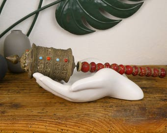 Prayer - Old Mani chuskor - ancient Tibetan Prayer mill grinder