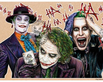 Jokers - Fine Art Print - A4/A3
