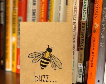 Buzzy Bee Notebook