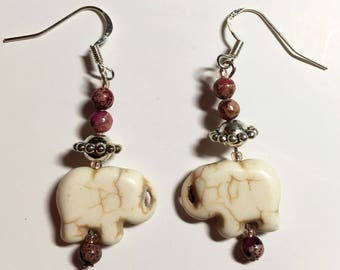Elephant Earrrings