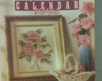 Annie's Plastic Canvas Calendar 1992