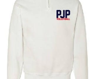 PJPII Volleyballl 1/4 Zip Sweater players