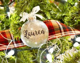 Name Ornament, Personalized Ornament, Custom Ornament