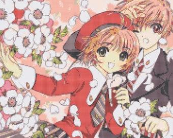 Cardcaptor Sakura Cross Stitch Pattern PDF