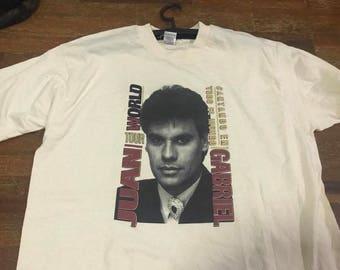 Vintag JUAN GABRIEL Shirt Size XL Free Shipping 90s Juan Gabriel World Tour Concert T-Shirt