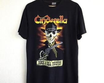 1980s Cinderella vintage t-shirt // band tee