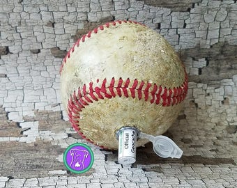 Baseball Geocaching Container, geocache, clever cache, micro cache, ball geocache container, Fast Shipping from USA