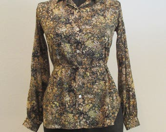 Black Lily Blouse