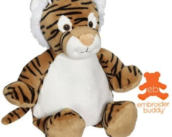 Personalised Plush Animal – Tory Tiger