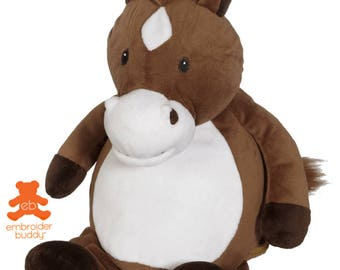 Personalised Plush Animal – Howie Horse