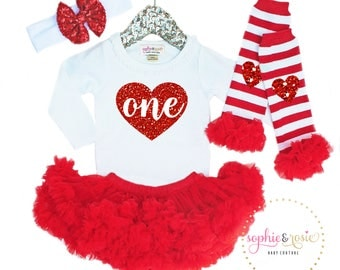 First Valentine's Day Outfit, 1st Birthday Girl, Cake Smash Outfit, Girls Valentine's Day Shirt, Birthday Valentine Shirt
