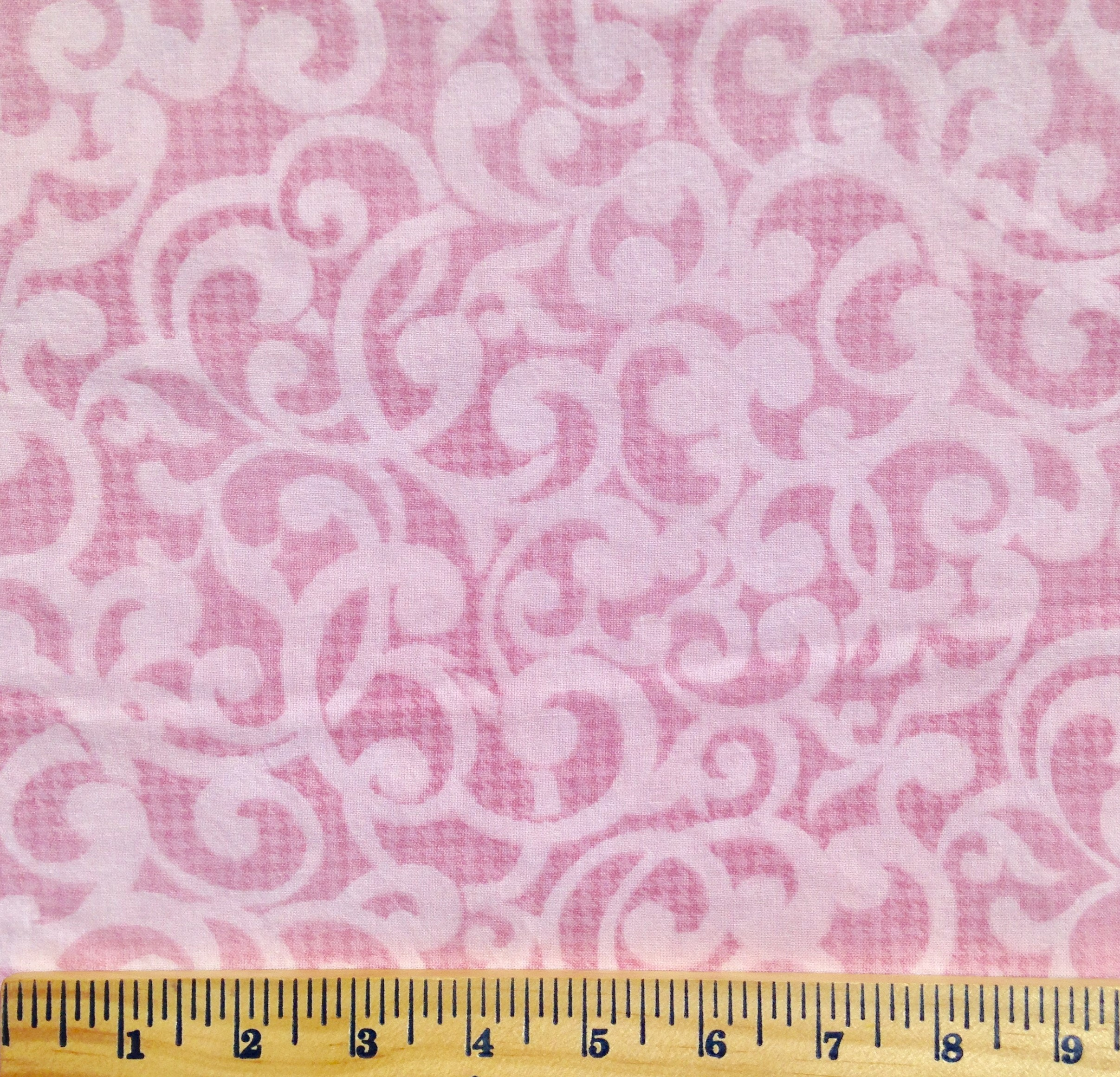 Quilt backing Pink swirl extra wide quilt backing 3 yards : wide quilt backing fabric sale - Adamdwight.com